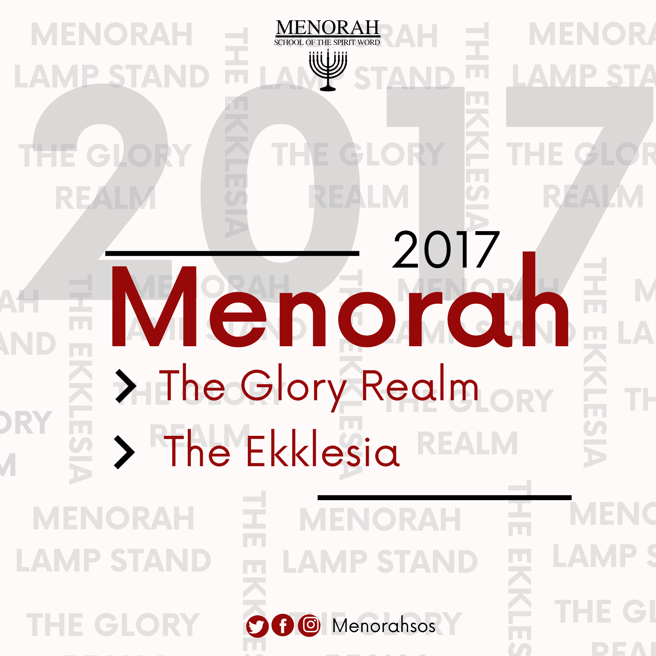 You are currently viewing Menorah, The Glory Realm and The Ekklesia (2017)