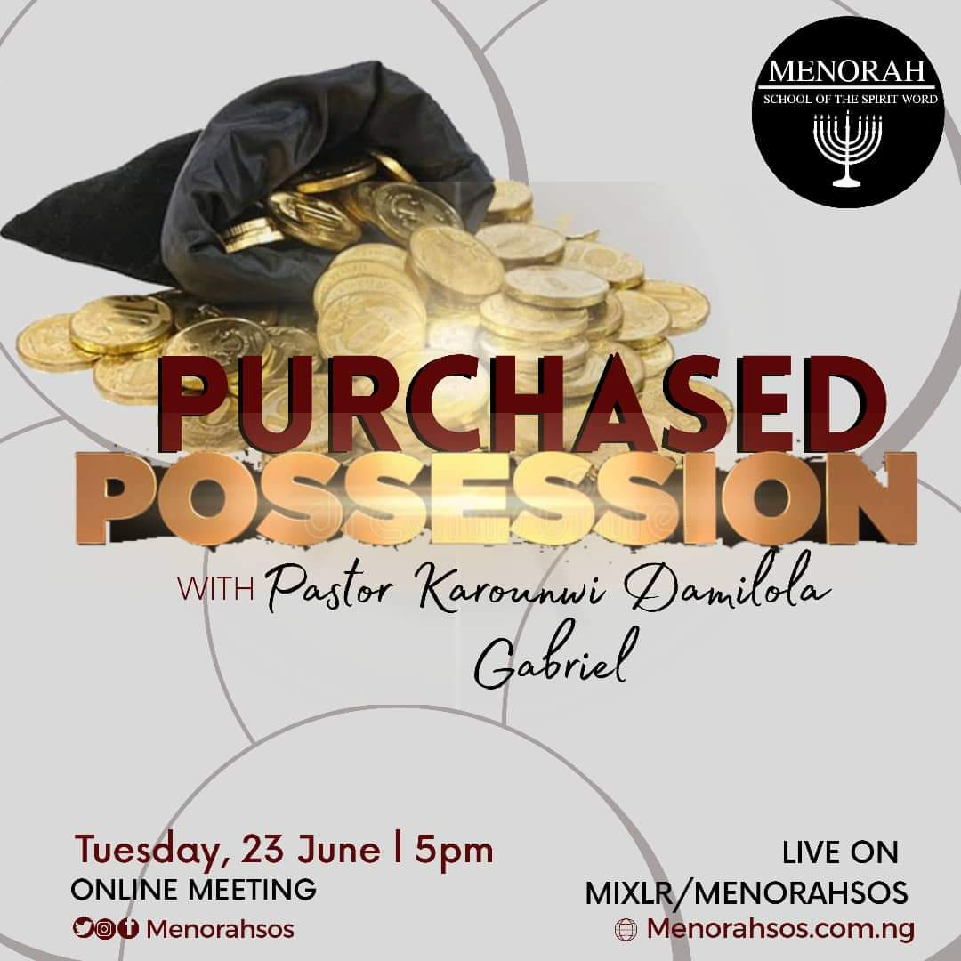 You are currently viewing Purchased Possession