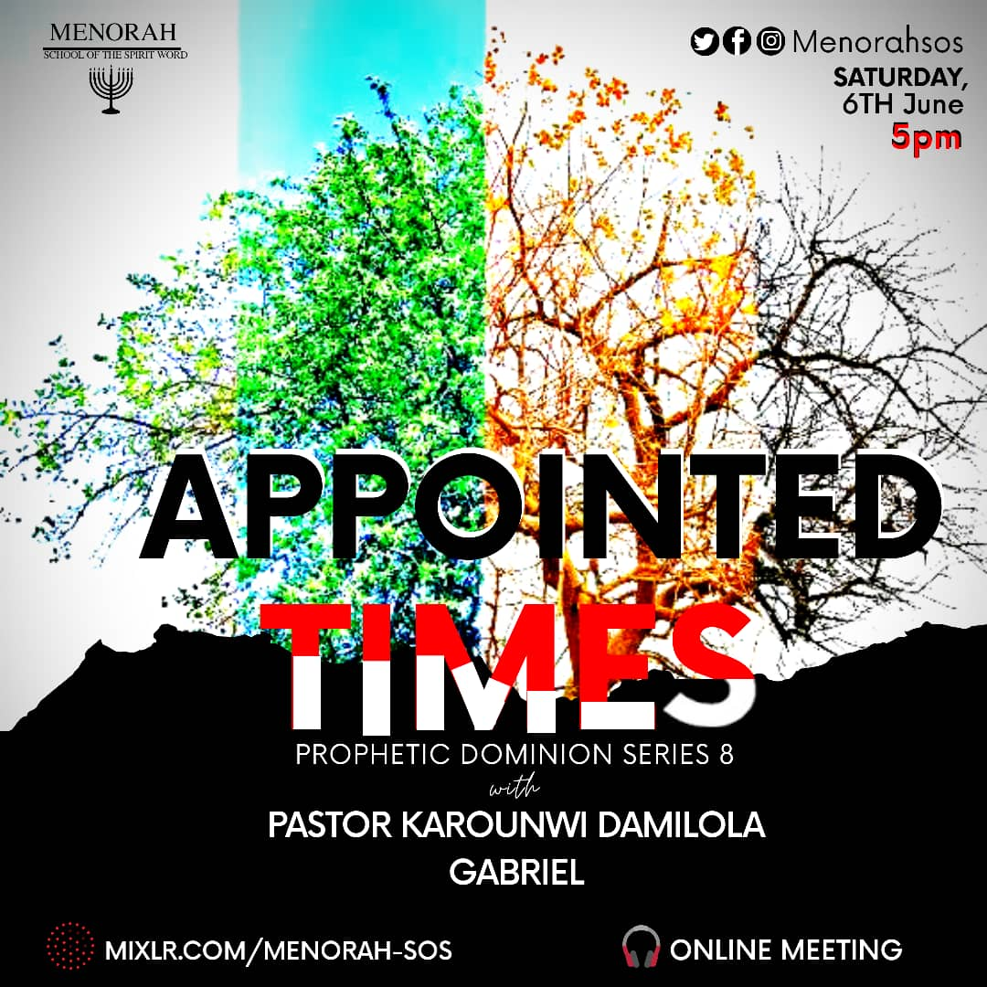 You are currently viewing Appointed Times