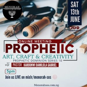 Read more about the article Prophetic Art, Craft and Creativity