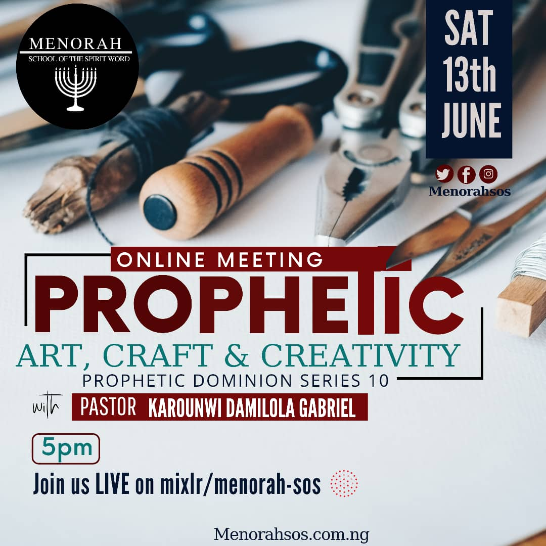 You are currently viewing Prophetic Art, Craft and Creativity