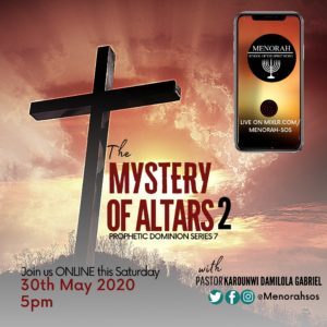 Read more about the article The Mystery Of Altars (Part Two)