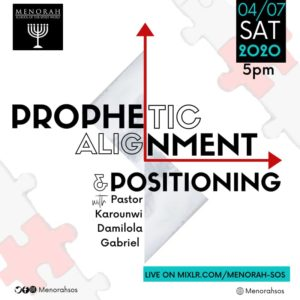 Read more about the article Prophetic Alignment And Positioning