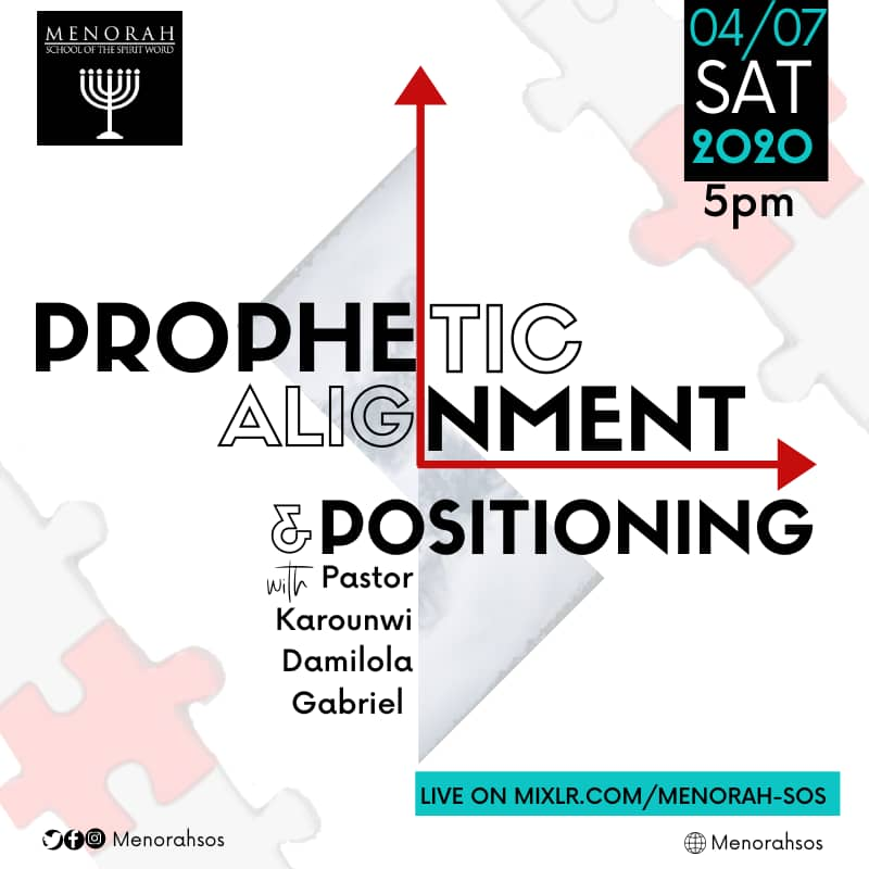 You are currently viewing Prophetic Alignment And Positioning