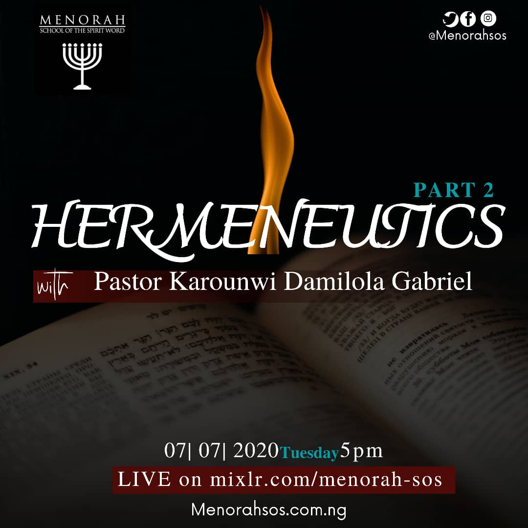 You are currently viewing Hermeneutics (Part Two)