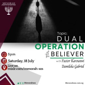 Read more about the article Dual Operation Of The Believer