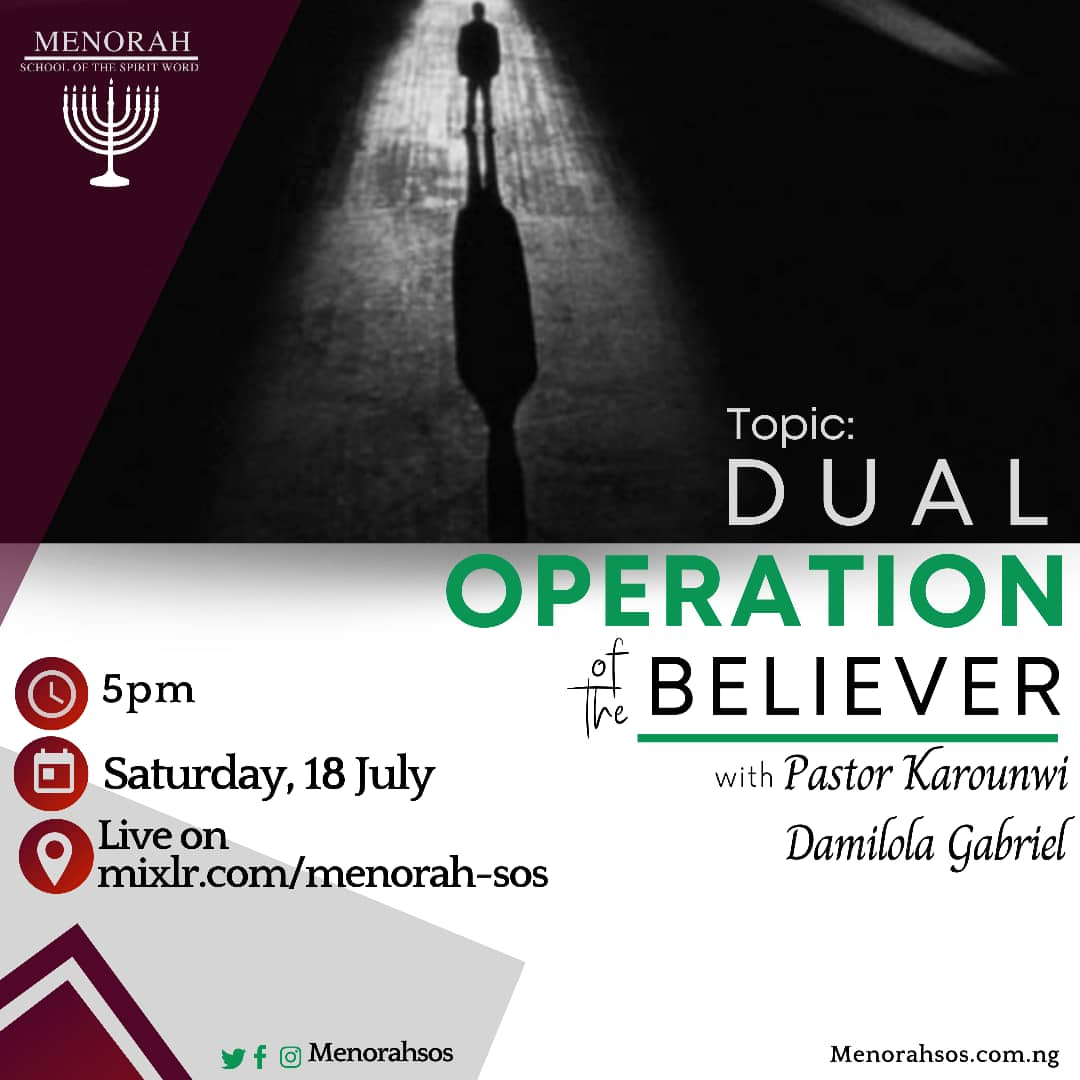 You are currently viewing Dual Operation Of The Believer