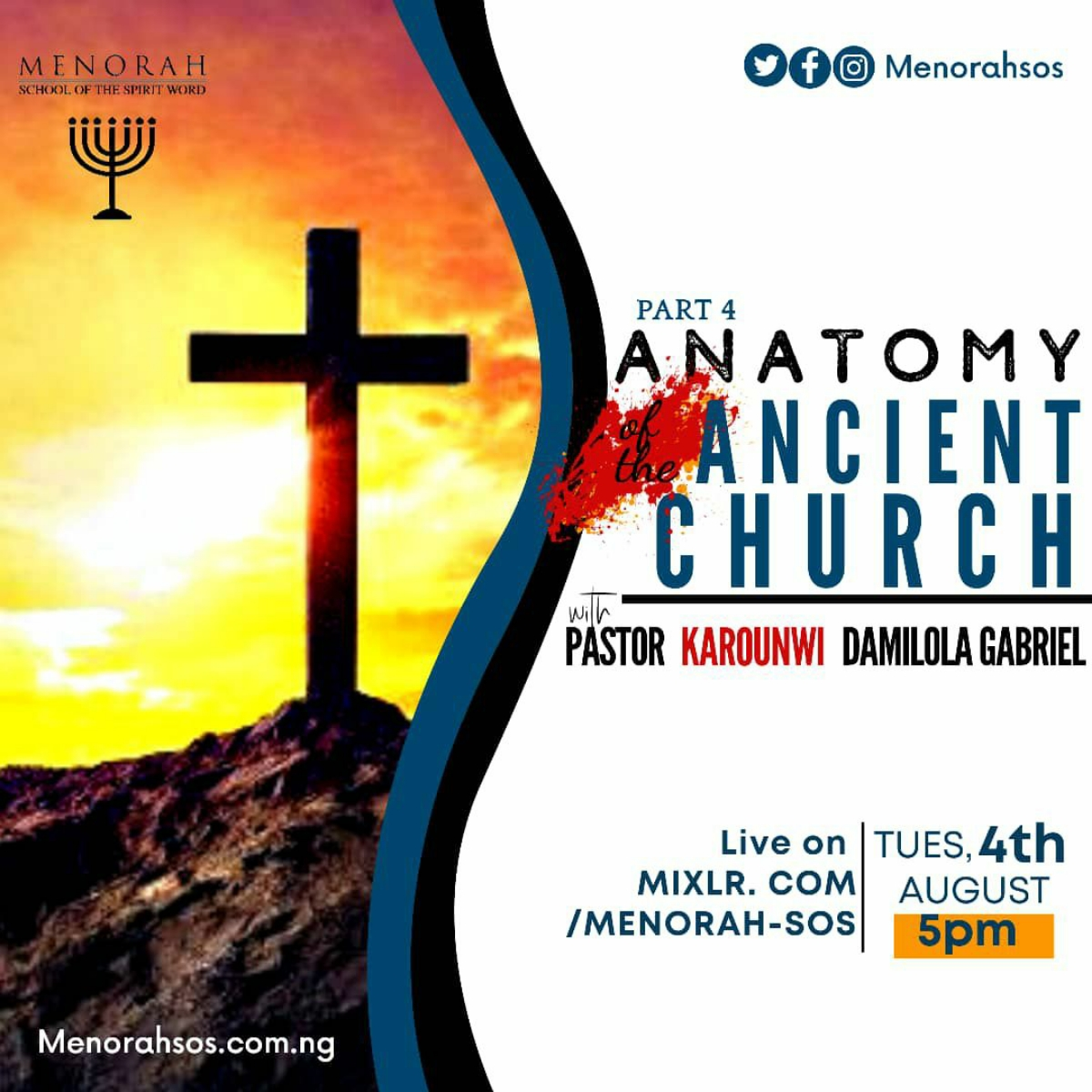 You are currently viewing Anatomy Of The Ancient Church (Part Four)