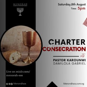 Read more about the article Charter Of Consecration (Part One)