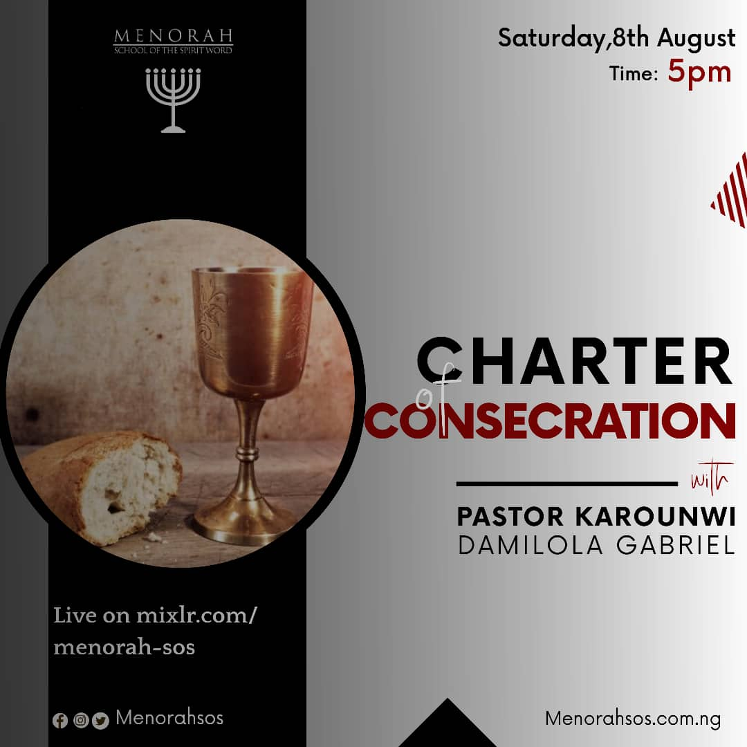 You are currently viewing Charter Of Consecration (Part One)
