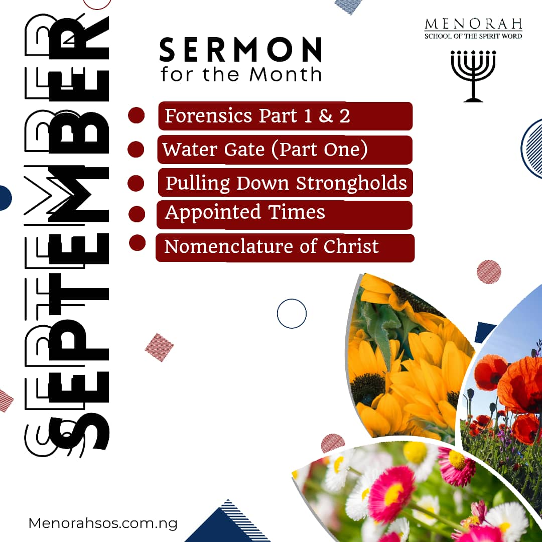 You are currently viewing Sermons For September