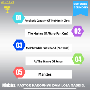 Read more about the article October Sermons