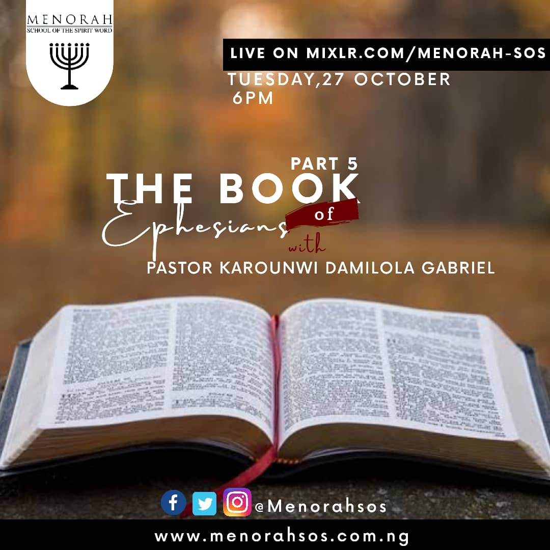 You are currently viewing The Book Of Ephesians (Part Five)