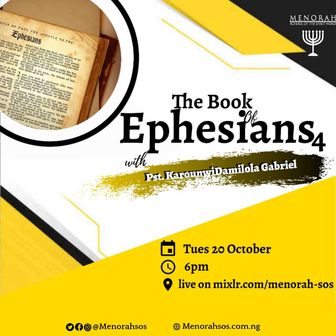 You are currently viewing The Book Of Ephesians (Part Four)