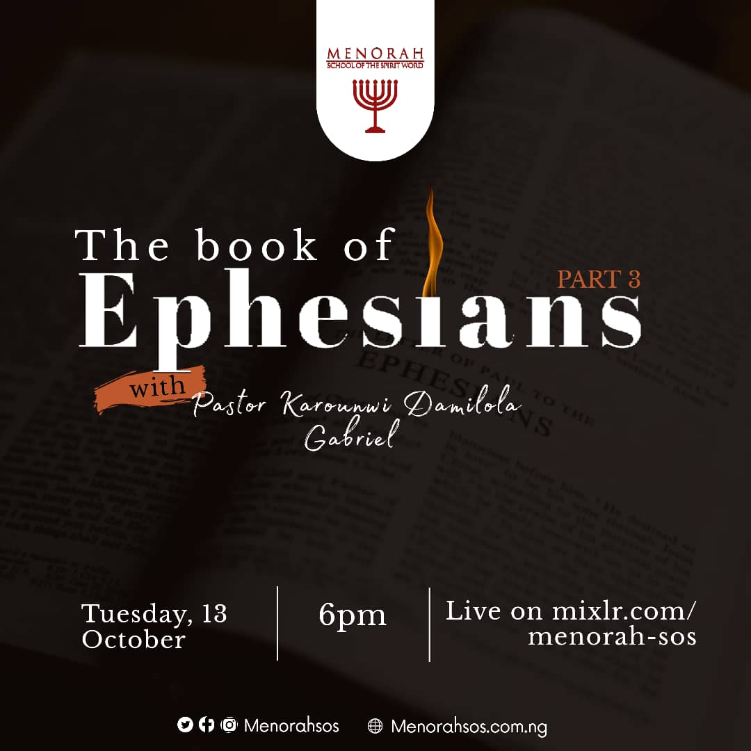 You are currently viewing The Book Of Ephesians (Part Three)