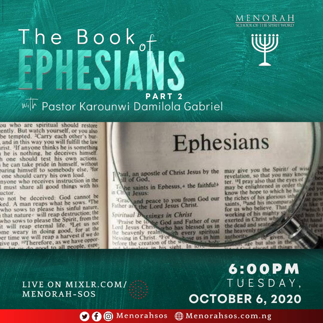 You are currently viewing The Book Of Ephesians (Part Two)