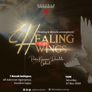 Read more about the article Healing In His Wings