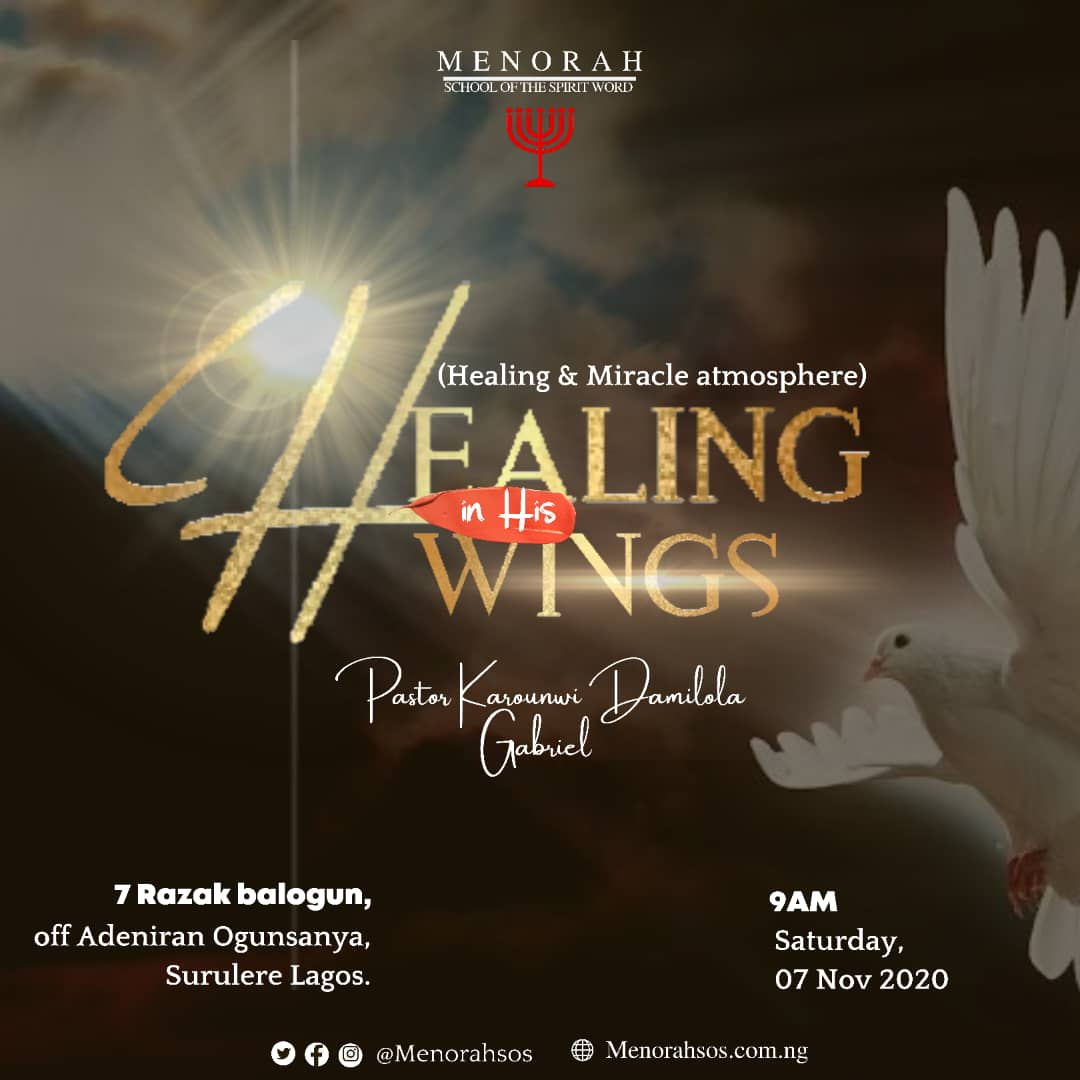 You are currently viewing Healing In His Wings