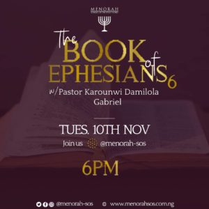 Read more about the article The Book Of Ephesians (Part 6)