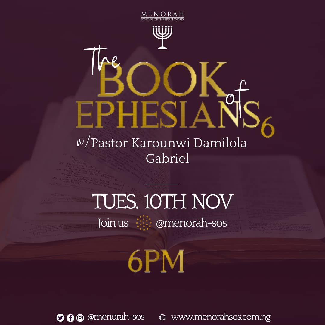 You are currently viewing The Book Of Ephesians (Part 6)