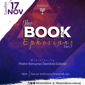 Read more about the article The Book Of Ephesians (Part 7)