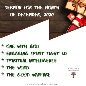 Read more about the article December Sermons