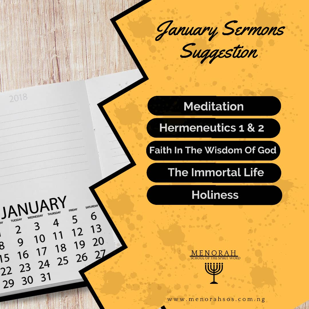 You are currently viewing January Sermons