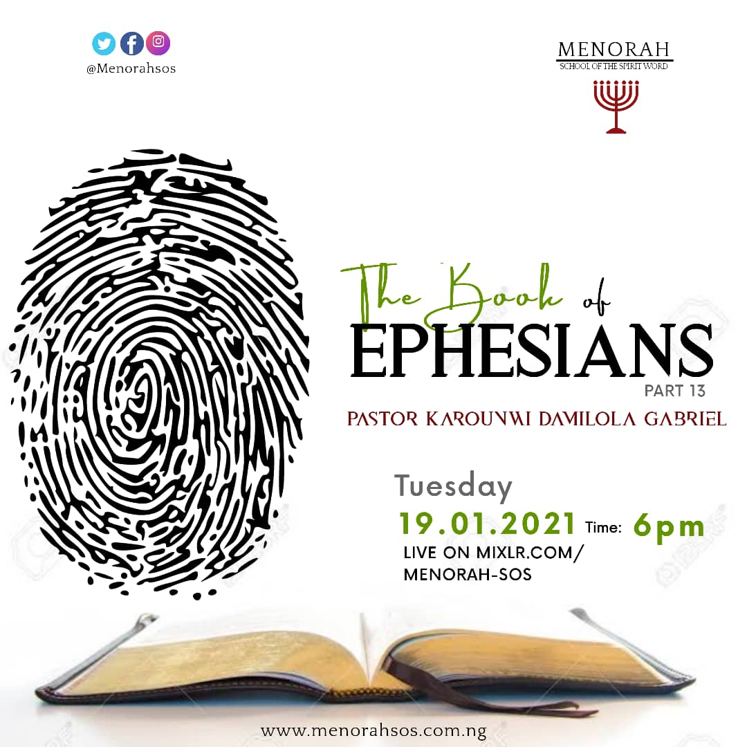 You are currently viewing The Book Of Ephesians (Part Thirteen)