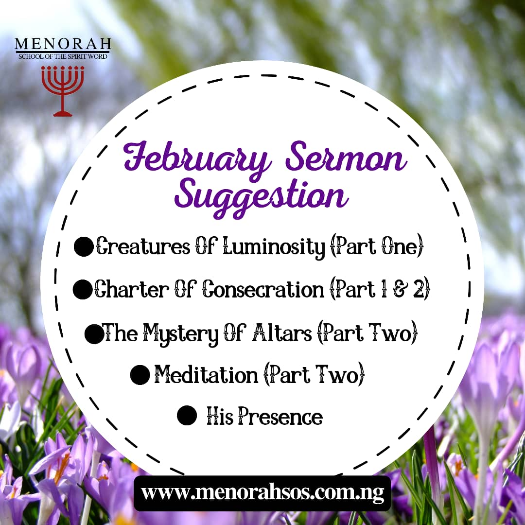 You are currently viewing February Sermons