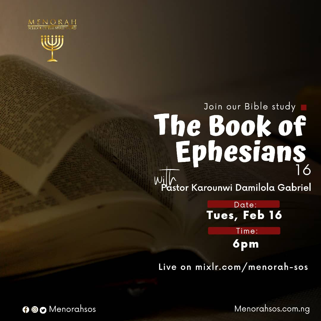 You are currently viewing The Book Of Ephesians Part 16 (Efficacy of Light)
