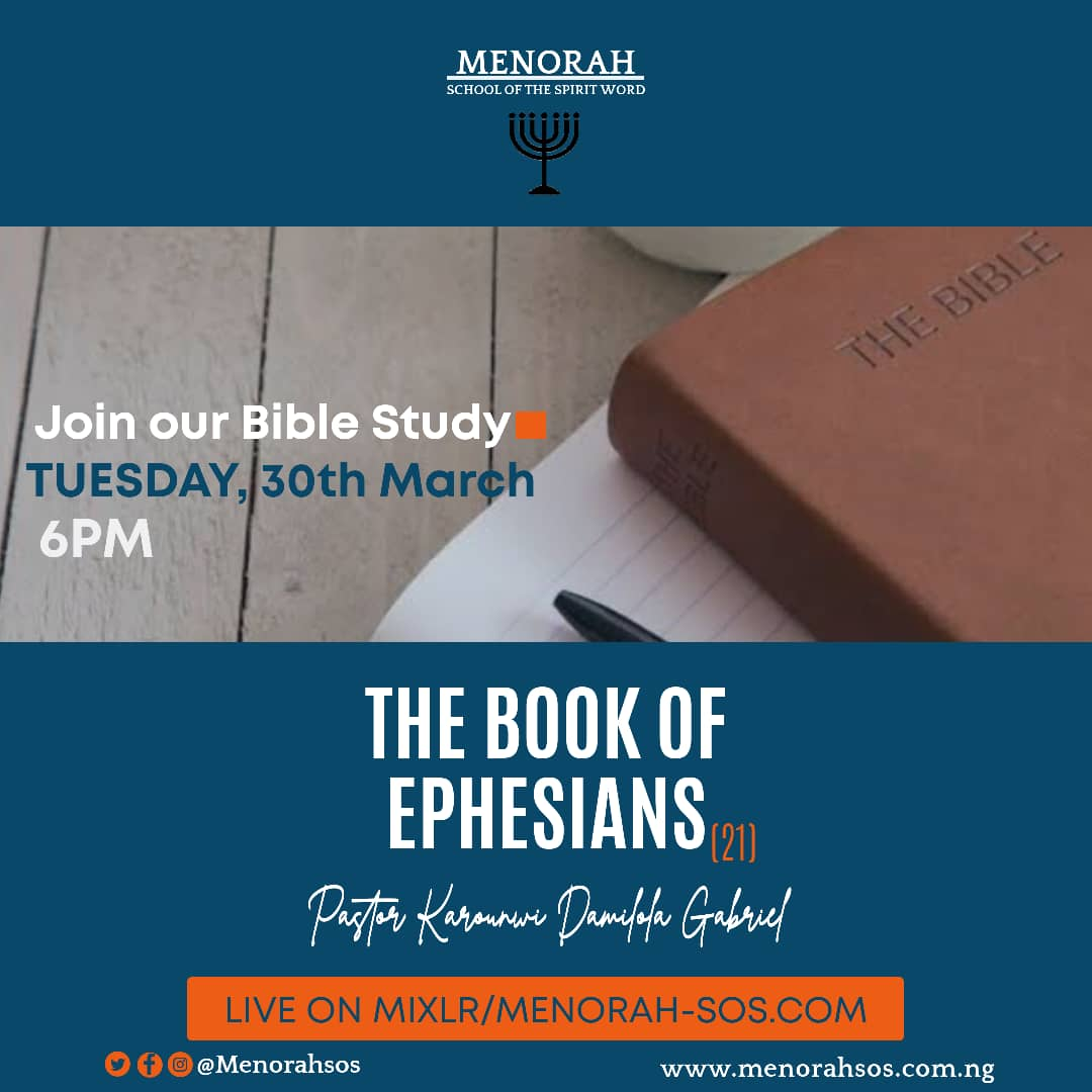 You are currently viewing The Book Of Ephesians (21)
