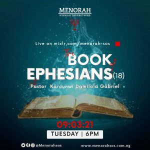 Read more about the article The Book Of Ephesians (Part 18)