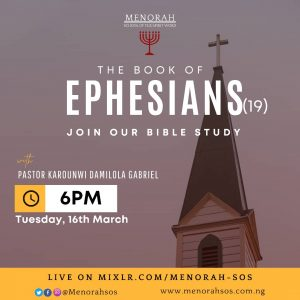 Read more about the article The Book Of Ephesians (Part 19)