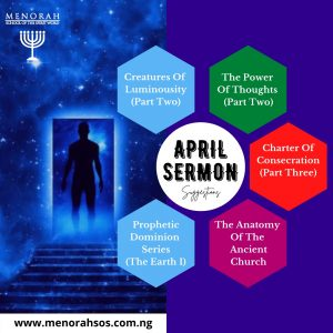 Read more about the article April Sermon Suggestion