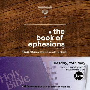 Read more about the article The Book of Ephesians Part 28