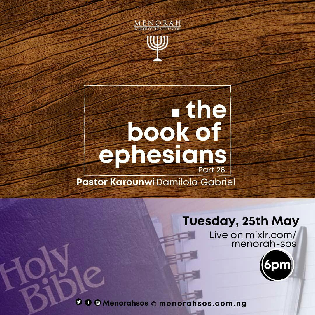 You are currently viewing The Book of Ephesians Part 28