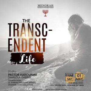 Read more about the article The Transcendent Life (Part Three)