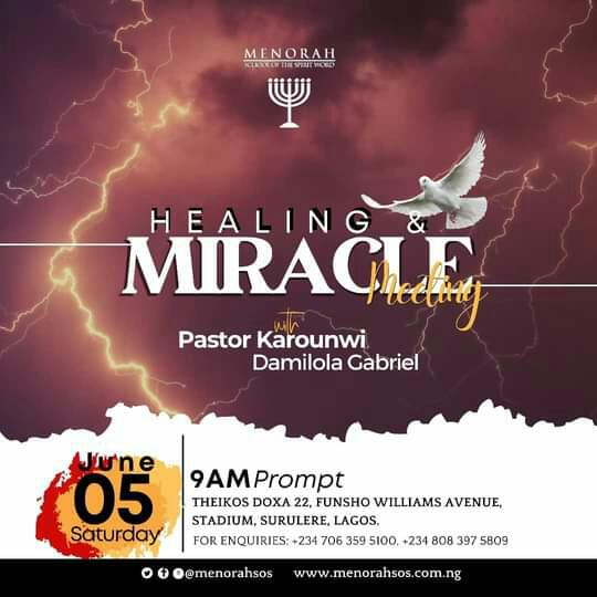 You are currently viewing Healing and Miracle Service