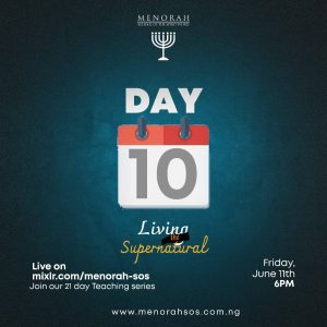 Read more about the article Living the Supernatural Part 4 (Day 10)