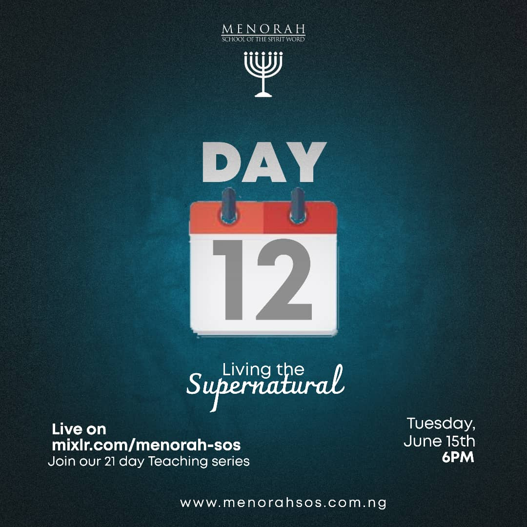 You are currently viewing Living the Supernatural Part 6 (Prayer Culture 2)