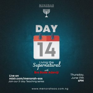 Read more about the article Living the Supernatural Part 8 (Honour) – Bro Bode Adeniji