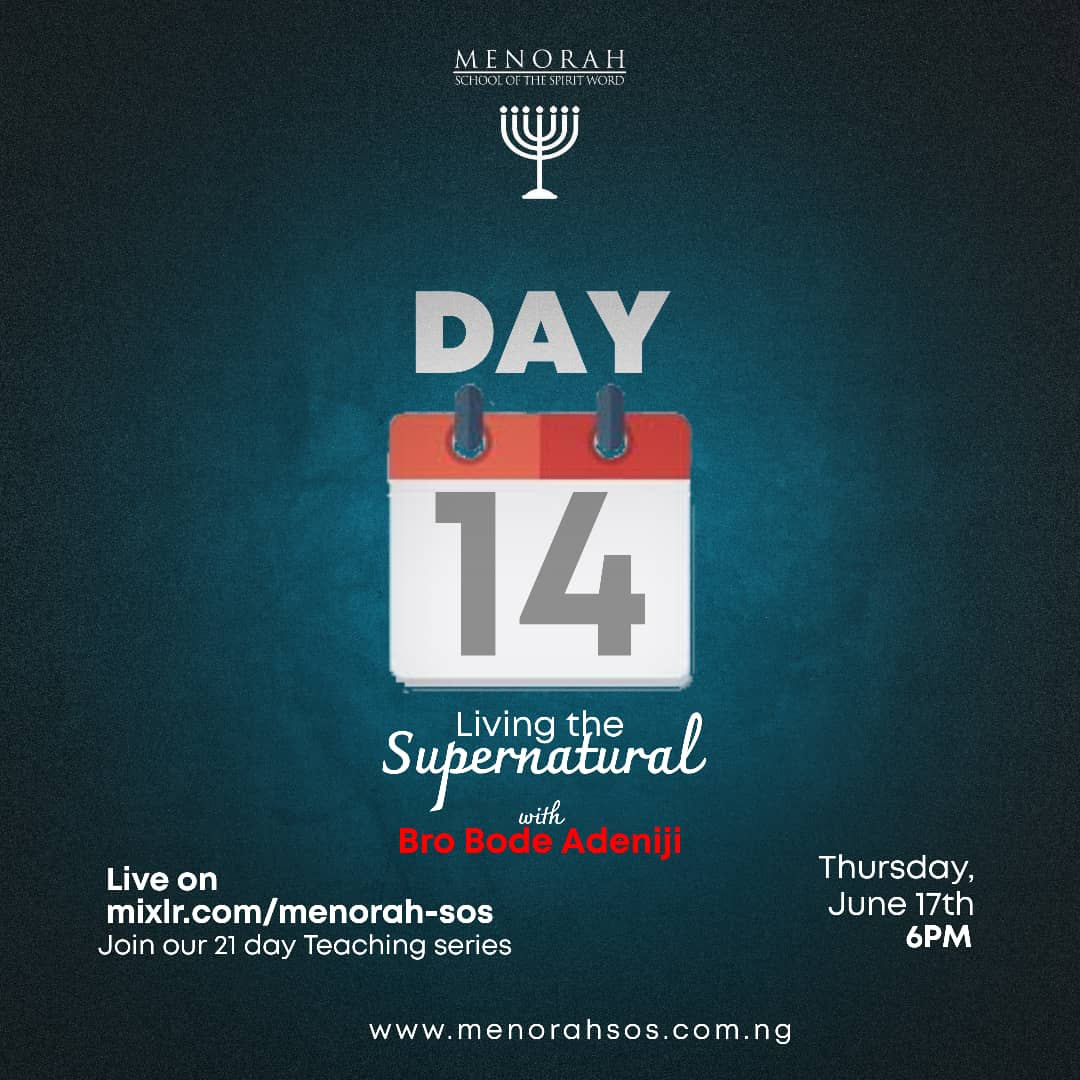 You are currently viewing Living the Supernatural Part 8 (Honour) – Bro Bode Adeniji