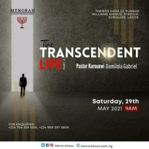 Read more about the article The Transcendent Life Part 4