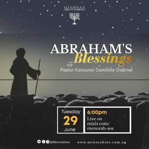 Read more about the article Abraham's Blessing
