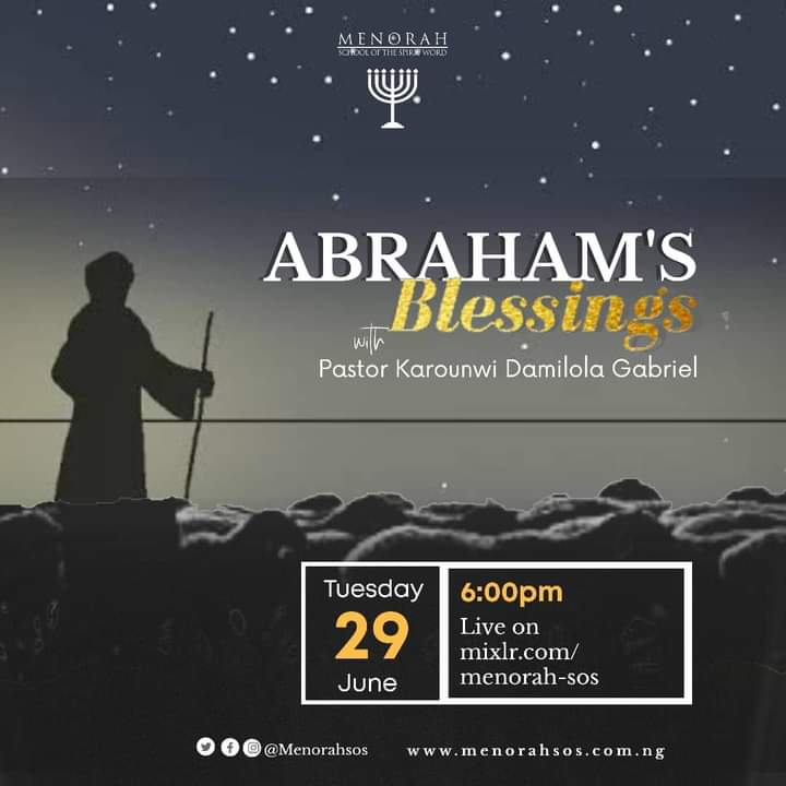 You are currently viewing Abraham's Blessing