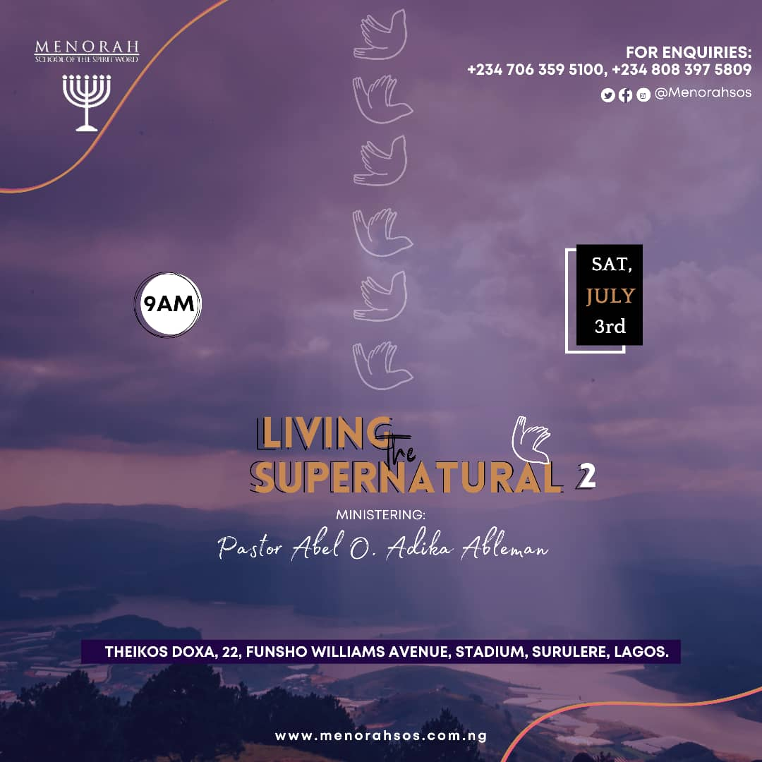 You are currently viewing Living the Supernatural