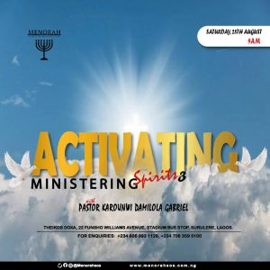 Read more about the article Activating Ministering Spirits III