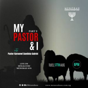 Read more about the article My Pastor and I Part 2