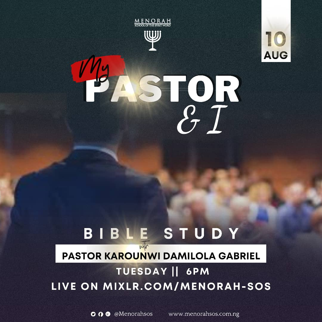 You are currently viewing My Pastor and I