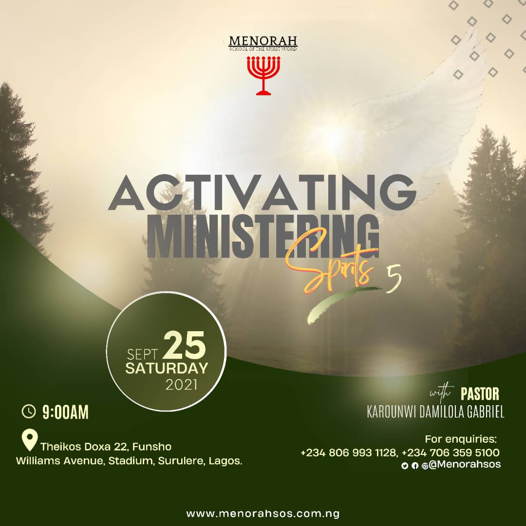 You are currently viewing Activating Ministering Spirits 5